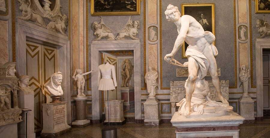 Borghese Gallery Tour - Bernini David