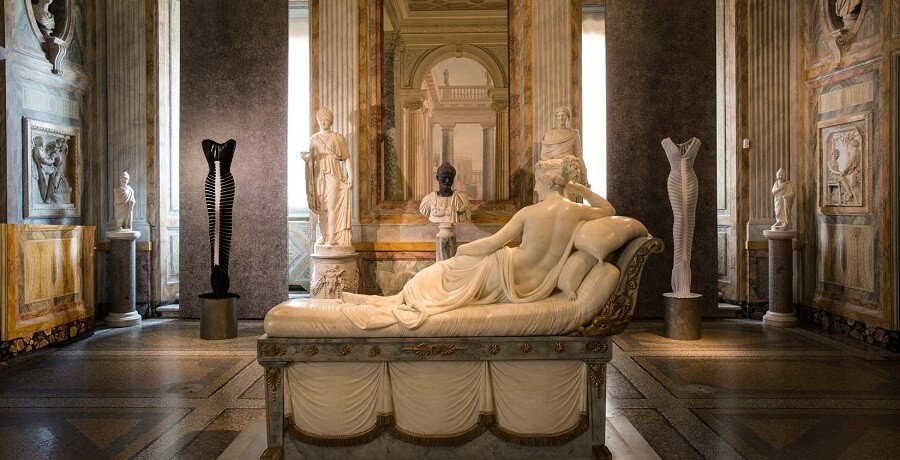 Borghese Gallery Tour - Pauline Boneparte