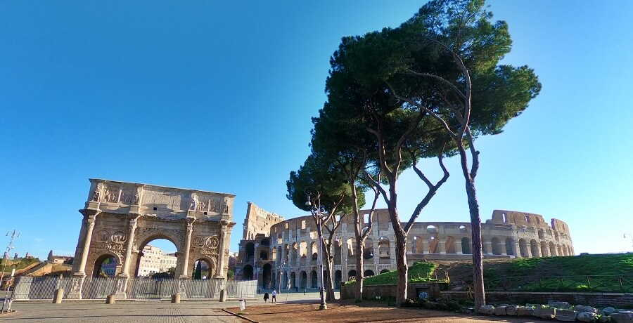 Rome Tours Colosseum and Arch of Constantine