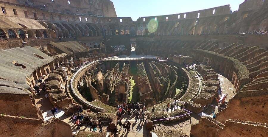 Rome Tours Colosseum inside