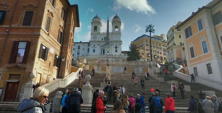Rome Tours Spanish Steps