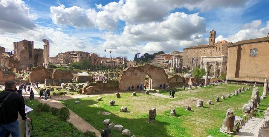 Rome Tours Temple of Vestals