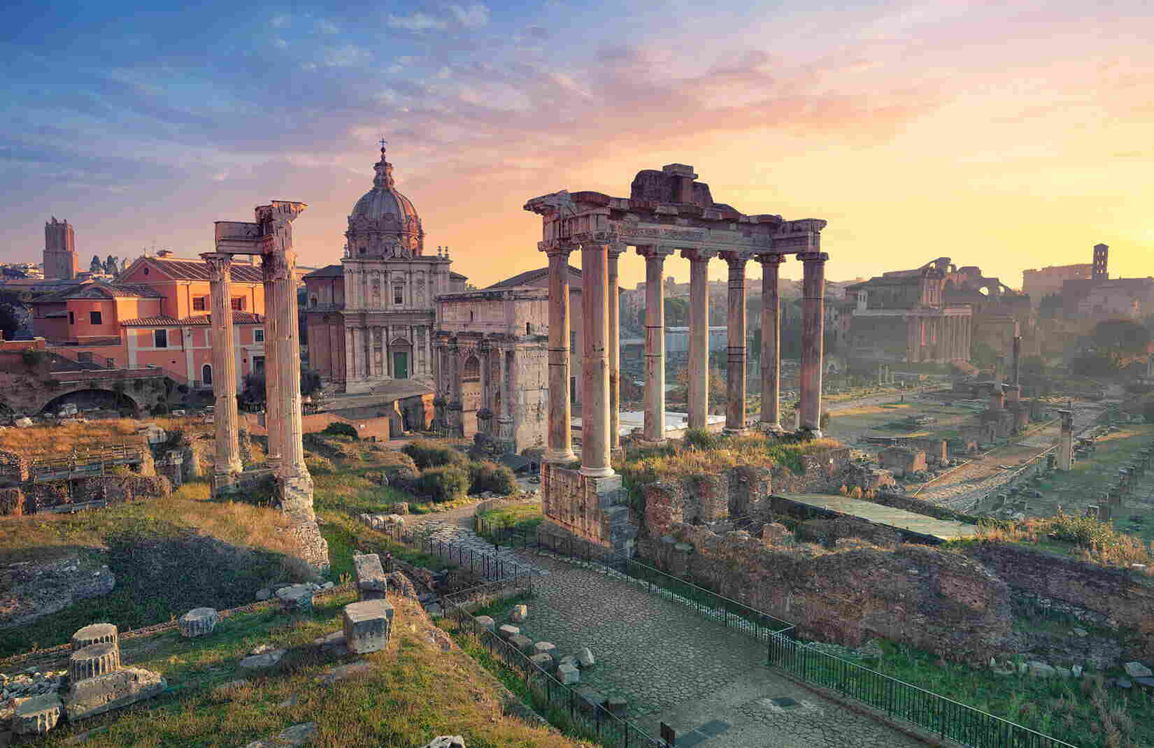 What happened at the Forum in Rome?