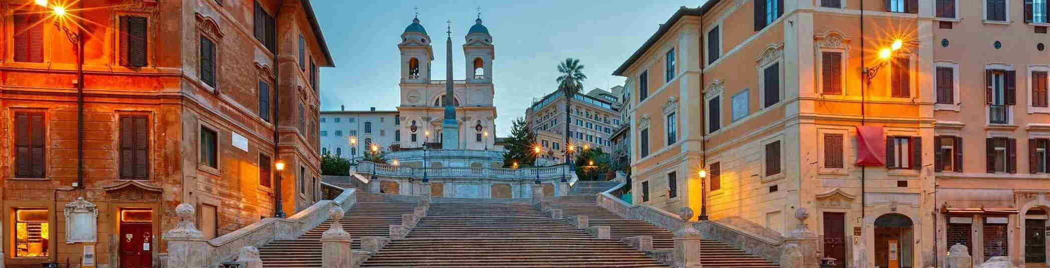 Why are the Spanish Steps so significant?