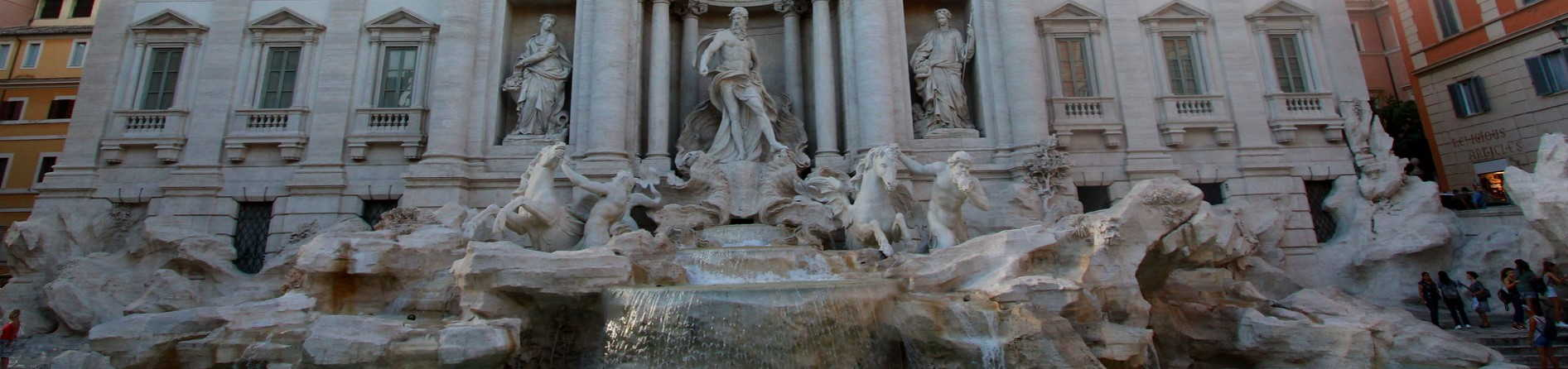 What is special about the Trevi Fountain?